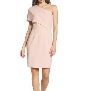 Vine Camuto One-Shoulder Body-Con Dress